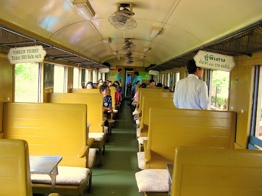 First class carriage