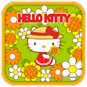 Hello Kitty Holiday Flowers icon
