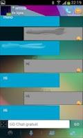 Screenshot of Go SMS Jelly Bean 4.1 theme 2