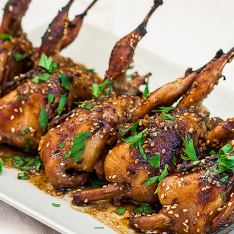 roast quail with balsamic reduction recipes dishmaps roast quail ...
