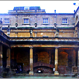 ROMAN BATHS, BATH, UK II by Danie Knipe - Buildings & Architecture Other Exteriors ( dkpgs, bath, architecture, danie knipe, bath house,  )