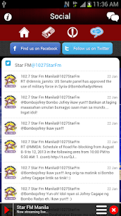 Star FM Manila 102.7 - screenshot