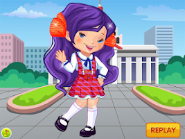 Screenshot of My School Uniform Dress Up