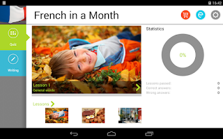 Screenshot of French in a Month Free