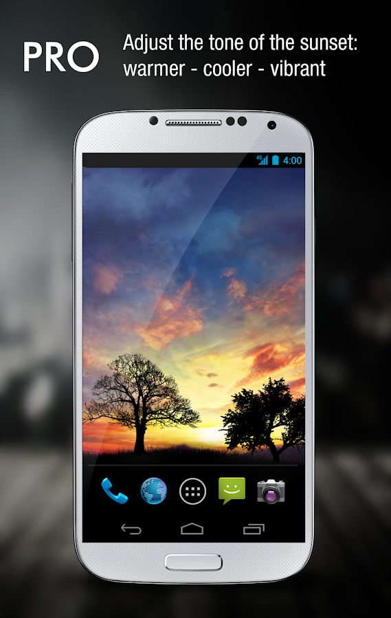Sunset Hill Pro Live Wallpaper Screenshot 1