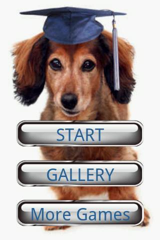 犬のパズル:ダックスフント
