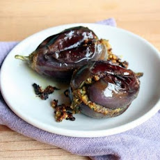 Potato-Stuffed Eggplants With Indian Spices