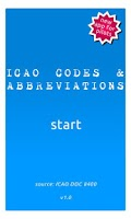Screenshot of ICAO Codes and Abbreviations