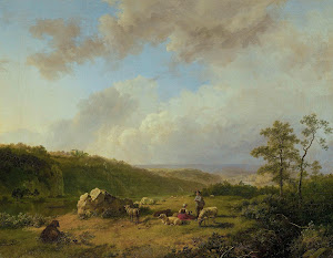RIJKS: Barend Cornelis Koekkoek: painting 1829