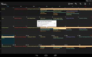 Screenshot of DigiCal+ Calendar & Widgets