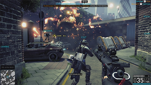 Splash Damage's free-to-play shooter Dirty Bomb coming to Steam in the new year