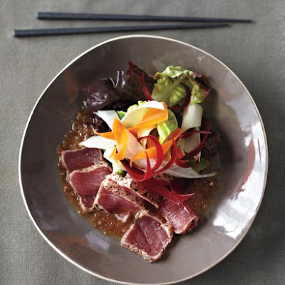 New-Style Sashimi Salad with Matsuhisa Dressing
