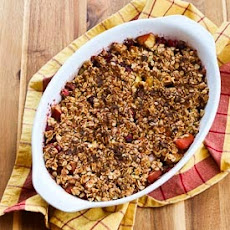 Low-Sugar Gluten-Free Cranberry Apple Crisp