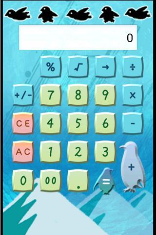 ペンギン電卓(有料版・広告無し)