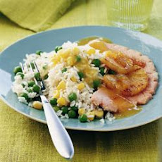 Glazed Gammon Steaks With Pineapple