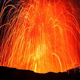 Mt. Yasur by Melissa Ovedia - News & Events Disasters ( geology, vanuatu, volcano, nature, mt.yasur, tanna )