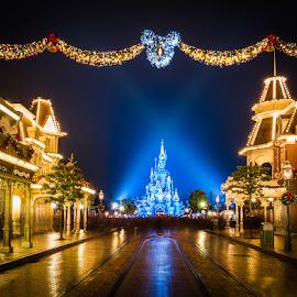 Disneyland Paris Xmas 2014 by Stefan Tiesing - City,  Street & Park  Amusement Parks
