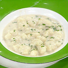 Potato Gnocchi with a Gorgonzola Sauce