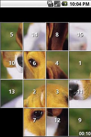 islider-puppy-slide-puzzles for android screenshot