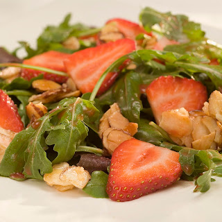 Berry Salad With Caramelized Almonds