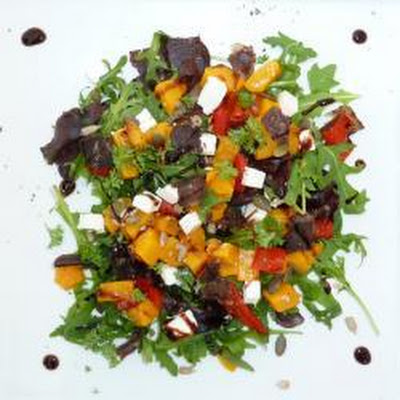Biltong And Roast Butternut Salad