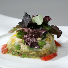 Crab and Guacamole Salad