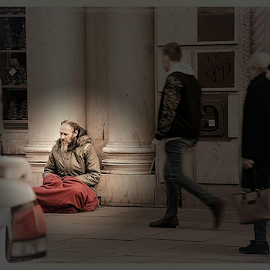 Homeless by Faillie Photos - People Street & Candids
