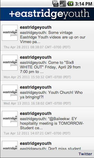Eastridge Youth