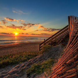 The Morning After by Jason Green - Landscapes Beaches ( #love, #staugustine #beach #sunrise#coastal# )