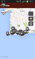 Screenshot of Algarve Travel Guide - Tourias