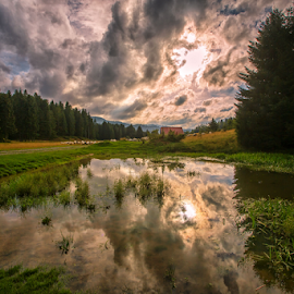 Mountain pond by Stanislav Horacek - Landscapes Weather