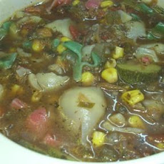 Vegetables and Small Shells Soup