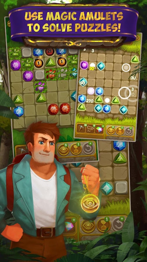Gemcrafter: Puzzle Journey Screenshot 2