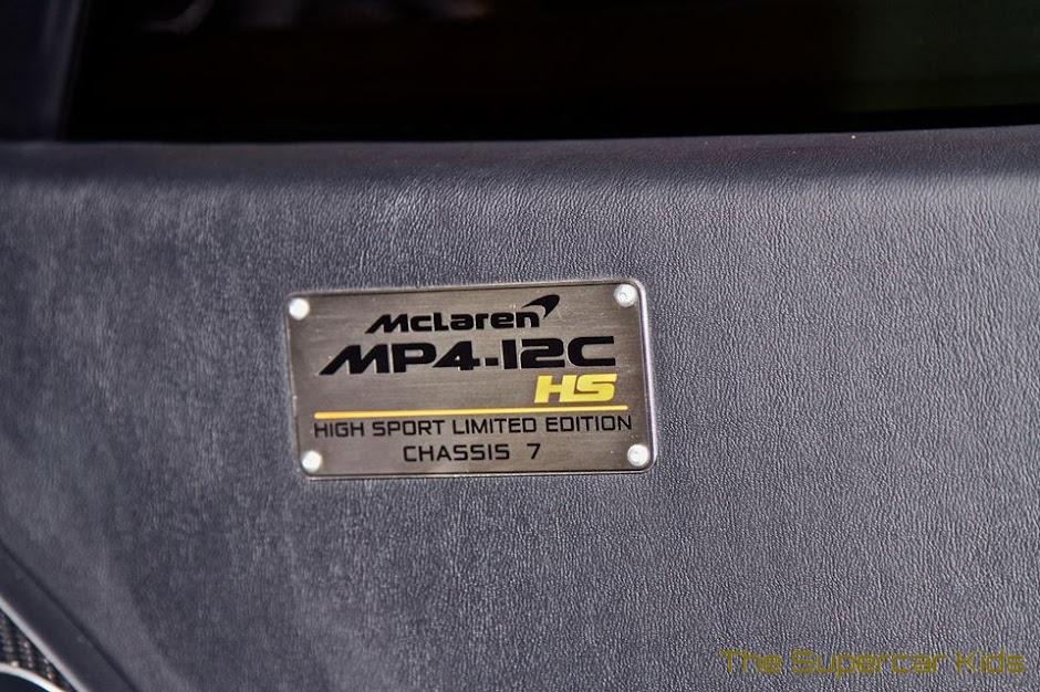 Cristiano Ronaldo's Mclaren MP4-12C High Sport