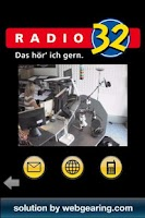 Screenshot of Radio 32