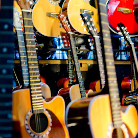 so many guitars for sale by Nasius Gunadi - Artistic Objects Musical Instruments (  )