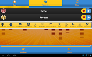 Screenshot of Free Soul Ringtones