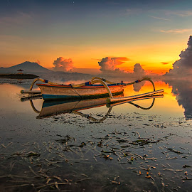 Traditional Boat of bali by Amyn Akbarinzyach - Transportation Boats