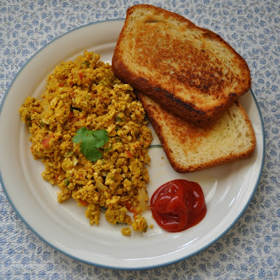 Buddy's Unda Bhurji - Spiced up Scrambled eggs