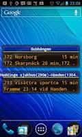 Screenshot of SL realtime widget