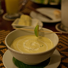 Chilled Avocado Soup With Ginger and Lime