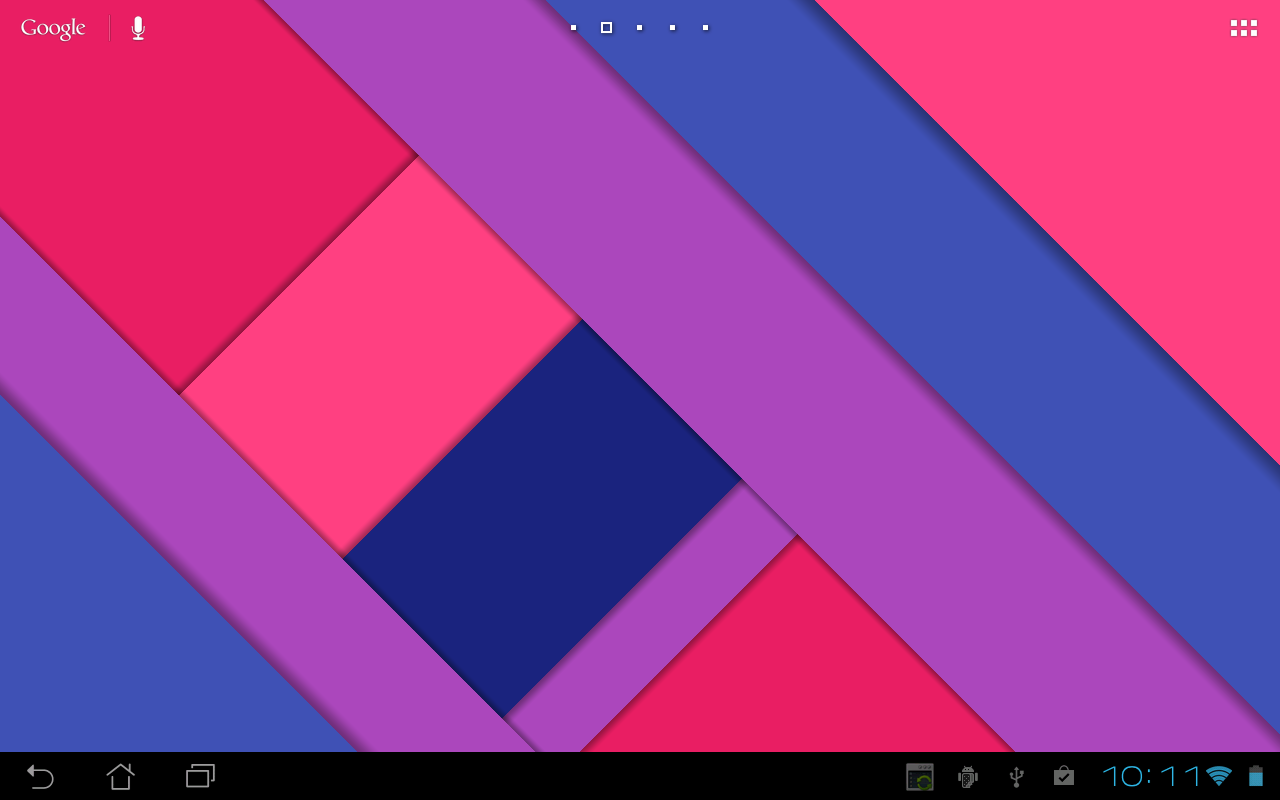 Material Design Live Wallpaper Screenshot 9