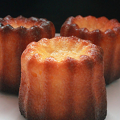 Rum Custard Cannelés