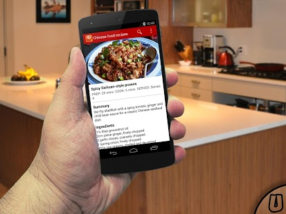 Chinese food recipes - screenshot