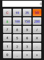 Screenshot of Calculha - Calculator
