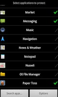Screenshot of App Locker Lite