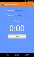 Screenshot of Gas Rate Calculator & Guide