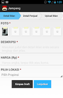 Screenshot of Jampang Beta (Jual Gampang)