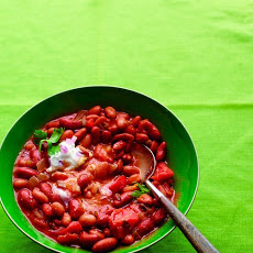 Sam's Vegetarian Bean Chili