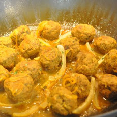Meatball Tagine With Herbs and Lemon